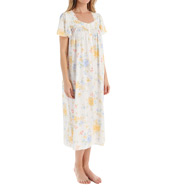 Aria Sunshine Short Sleeve Long Nightgown 8214919