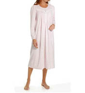 Aria Wonderful Long Sleeve Micro Fleece Nightgown 8214920