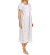 "Aria Soft Jersey 46"" Short Sleeve Ballet Nightgown 8214931"