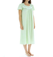 "Aria Soft Jersey 46"" Short Sleeve Ballet Nightgown 8214932"