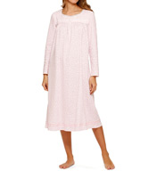 Aria Holiday Hues Long Sleeve Ballet Nightgown 8214997