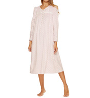 Aria Snowed In Fleece Long Sleeve Ballet Nightgown 8217701