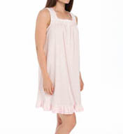 Aria Printed Soft Jersey Sleeveless Short Nightgown 8314873