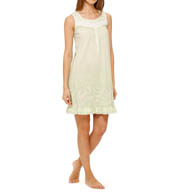 "Aria Soft Jersey 37"" Sleeveless Short Nightgown 8314932"