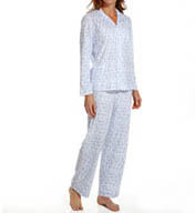 Aria Brushed Interlock Long Sleeve PJ Set 8914875