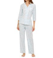 Aria Soft Jersey 3/4 Sleeve Long PJ Set 8914930