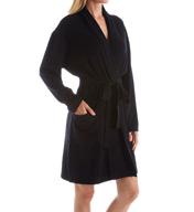 Arlotta Cashmere Classic Short Robe With Shawl Collar 2012