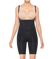 Assets by Sara Blakely Remarkable Results Open Bust Midthigh Bodysuit 2271