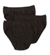 Bali Luxe Hi Cut Brief Panty - 3 Pack V883
