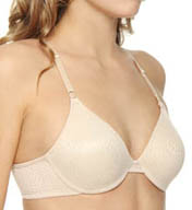 Barely There Invisible Look Jacquard Underwire Bra 4590