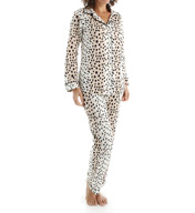 BedHead Pajamas Royal Animal Long Sleeve Classic PJ Set 2525