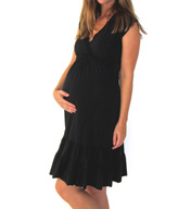 Belabumbum Before & After Nursing Ruffle Dress BA232