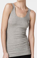 Bella Luxx Seamed Back Rib Tank BL2052