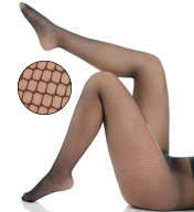 Berkshire Plus Size Fishnet Pantyhose 4930
