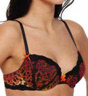 Betsey Johnson Intimates Stretch Mesh Balconette Bra 723552