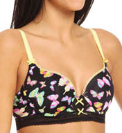 Betsey Johnson Intimates Pretty Pin-Up 3/4 Length Bump M' Up Bra 723650