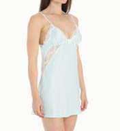 Betsey Johnson Intimates Bridal Blue Satin Slip 732900
