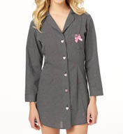 Betsey Johnson Intimates Cozy Lawn Sleepshirt 733802