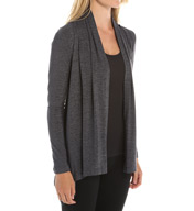 Beyond Yoga Cloud Heather Drape Front Cardigan CH2059