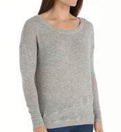 Beyond Yoga Lurex Sweater Knit Layered Sweater LS7229