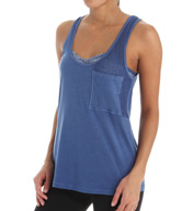 Beyond Yoga Supima Cotton & Mesh Pocket Tank SC4185