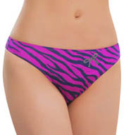 Black Bow Rumour Smooth Thong 539992