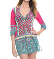 Blush Swimwear California Girl Mesh Cover Up 508572A