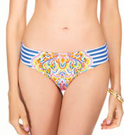 Blush Swimwear Sunrise Shirred Side Swim Bottom 551339P