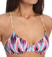 Blush Swimwear Navajo Underwire Cross-back Swim Top Z401151
