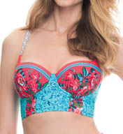 Blush Swimwear Shangri-La Bustier Swim Top Z501122