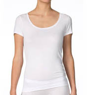Calida Soft Favorites Short Sleeve Scoop Neck Tee 14500