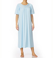 Calida Soft Cotton Short Sleeve Night Shirt Gown 33400
