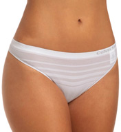 Calvin Klein Ombre Stripe Thong D3419