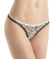 Calvin Klein Bottoms Up Thong D3445