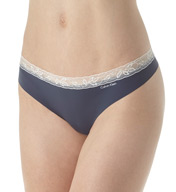 Calvin Klein Invisibles with Lace Thong D3517