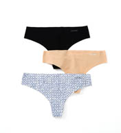 Calvin Klein Invisibles Thong - 3 Pack QD3531