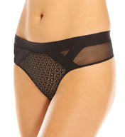 Calvin Klein Black Fierce Thong QF1114