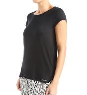 Calvin Klein Wovens Capsleeve Crew T-Shirt QS5253