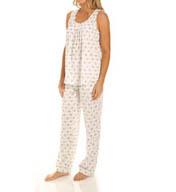 Carole Hochman Awakening Long Pajama Set 181811
