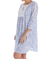 Carole Hochman Garden 3/4 Sleeve Sleepshirt 183970
