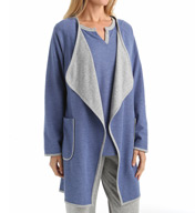 Carole Hochman Lounge Double Faced Jersey Cardigan Robe 1851013