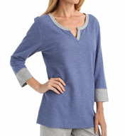 Carole Hochman Lounge Double Faced Jersey Top 1861013