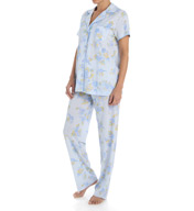 Carole Hochman Garden Long Pant Pajama Set 1891012