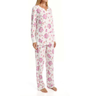 Carole Hochman Berry Springs Long PJ Set 1891051