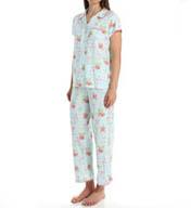 Carole Hochman Paradise Capri Pajama Set 189754