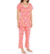 Carole Hochman Fresh Capri Pajama Set 189760