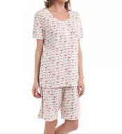 Carole Hochman Medley Bermuda Pajama Set 189762