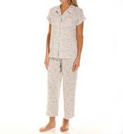 Carole Hochman Awakening Capri Pajama Set 189811