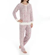 Carole Hochman Porcelain Toile Pajama Set 189850
