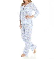 Carole Hochman Butterfly Bouquets Pajama 189931